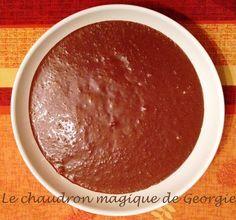 Mousse au chocolat légère et aérienne (P. Hermé) au Thermomix