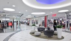Klif Gdynia,Shopping Mall, Interior Refurbishment, Interior Design, Gdynia-Poland, Bose International Planning and Architecture