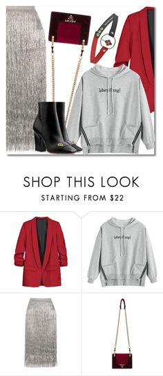 """""""9 Saturday night live"""" by laurafox27 ❤ liked on Polyvore featuring Rachel Zoe and Prada"""