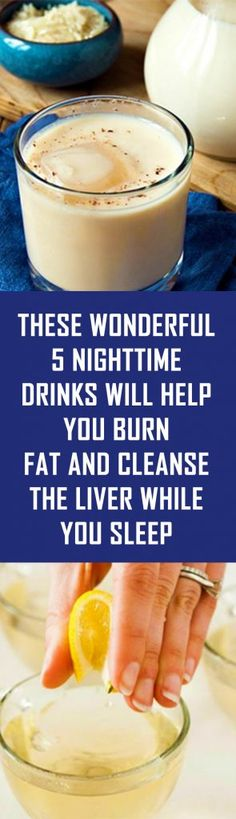 These Wonderful 5 Nighttime Drinks Will Help You Burn Fat and Cleanse the Liver ., - These Wonderful 5 Nighttime Drinks Will Help You Burn Fat and Cleanse the Liver …, - Healthy Juice Recipes, Healthy Juices, Smoothie Recipes, Healthy Nutrition, Smoothies, Healthy Drinks, Diet Drinks, Eating Healthy, Healthy Foods