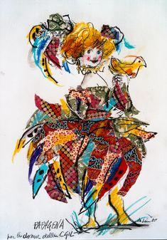 Lele Luzzati - Il flauto magico. Papagena