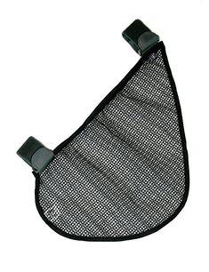 J.L. Childress Side Sling Stroller Cargo Net, Black