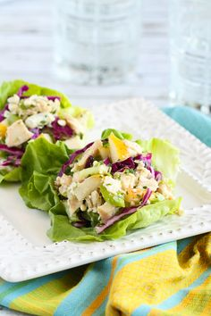 Updated Waldorf Salad Cups from Andie Mitchell's fantastic new cookbook!…Satisfying and fresh! 303 calories and 8 Weight Watchers PP