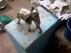 Home Decors items of Bell Metal(Brass) Size- 10 inch and weight - 800 gm. Ready for sale Min.Supply- 50 pieces