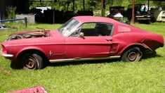 A-Code Fastback: 1967 Ford Mustang - http://barnfinds.com/a-code-fastback-1967-ford-mustang/