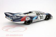 CK-Modelcars - 87171: Porsche 917 Long Tail #21 24h LeMans 1970 1:18 AUTOart, EAN 674110871715