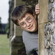 Guess who?! | Look At These Awkwardly Cute Photos Of The Harry Potter Cast From 2000