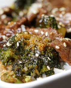Easy Beef and Broccoli