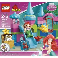 I'm learning all about LEGO DUPLO Princess Ariel Undersea Castle 10515 at @Influenster!