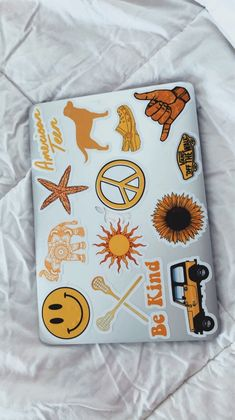 Phone case · vsco - aleenaorr - collection stickers on laptop, mac stickers, macbook stickers, cute Auryn, Macbook Stickers, Stickers On Laptop, Cute Stickers, Mac Stickers, Happy Colors, Mellow Yellow, My Favorite Color, Just In Case