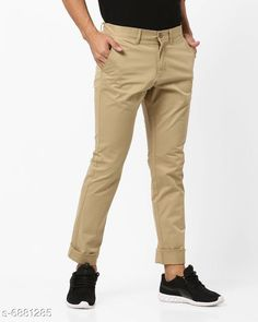 Trousers Regular Fit Men's Trousers Fabric: Cotton Pattern: Solid Type:Stiched Multipack: 1 Sizes:  S (Waist Size: 28 in Length Size: 40 in)  M (Waist Size: 30 in Length Size: 40 in)  L (Waist Size: 32 in Length Size: 40 in)  XL (Waist Size: 34 in Length Size: 40 in)  XXL (Waist Size: 36 in Length Size: 40 in)  Country of Origin: India Sizes Available: 28, 30, 32, 34, 36   Catalog Rating: ★4 (402)  Catalog Name: Ravishing Unique Men Trousers CatalogID_1098562 C69-SC1212 Code: 854-6881285-8901