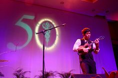 Jake Shimabukuro Wowed the crowd at JABSOM's 50th Anniversary Gala on July 18, 2015 where 1,300+ guests celebrated what the school has accomplished, visited old friends and helped support medical school student scholarships.