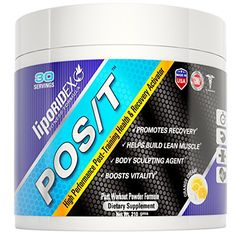 Post Workout Supplements Powder Liporidex POST The Only BCAA  Astaxanthin Based Recovery Formulation for Increase Muscle Gains Fat Loss and Reducing Muscle InjuryBreakdown After Exercise  Proven 411 BCAA blend plus Astaxanthin Colustromune and more for powerful antioxidant based rapid recovery reduced inflammation and healthier lean muscles gains >>> Details can be found by clicking on the image.