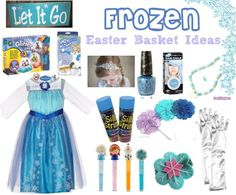 Ideas for a Frozen-inspired Easter basket | SimplyBeingMommy.com