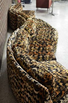 18-foot long sofa — Thayer Coggin vintage 1970s-WOW!