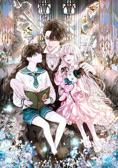 Anime Dad, Anime Couples Manga, Chica Anime Manga, Anime Prince, Manga Collection, Anime Family, Beautiful Fantasy Art, Anime Girl Drawings, Manga Covers