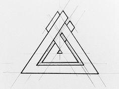 triangular.