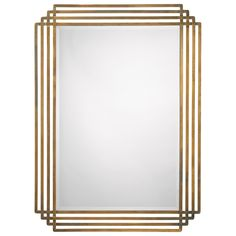 "Jamie Young Serai Mirror Overall: 32""W x 1""D x 44""H Mirror: 24""W x 36""H"