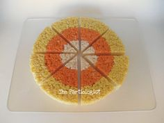 The Partiologist: Candy Corn Rice Krispie Treats!
