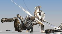 Skyrim animation reel by Seungmin Park. *2012 work