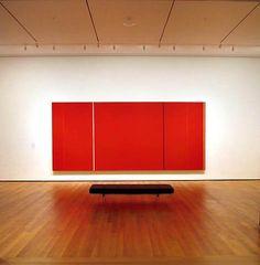 Barnett Newman's Vir Heroicus Sublimis at MoMA Barnett Newman, Hard Edge Painting, Action Painting, Colour Field, Korean Art, Mark Rothko, Contemporary Paintings, American Artists, Installation Art