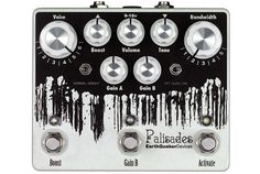 The Palisades is something we said we would never do… an overdrive based on the legendary TS808! Gasp! The horror! Another tubes creamer?? In 2014?? Really?? After loads of requests we finally buckled. We ran tests with every popular clone on the market as well as several vintage originals, compared, contrasted and took loads of notes. It was exhausting but informative. In the end, we threw it all away, used our ears and came up with what we feel is the most versatile relative of the 808 ...