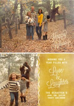 Sasquatch Christmas Card - my future family WILL have Christmas cards like this!