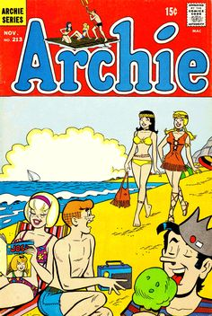 Archie Comics ~ Loved Collecting & Reading About Archie & The Gang! Archie Comics, Comics Und Cartoons, Dc Comics, Archie Comic Books, Vintage Comic Books, Comic Book Characters, Vintage Comics, 1970s Cartoons, Classic Comics