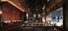 The Chedi Andermatt Hydrothermal area