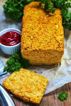 Just My Delicious: Pasztet z Cukinii z Marchewką Carrot Recipes, Diet Recipes, Vegan Recipes, Cooking Recipes, No Cook Appetizers, Meatloaf Recipes, Dinner Dishes, Healthy Snacks, Food Porn