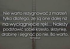 TeMysli.pl - Inspirujące myśli, cytaty, demotywatory, teksty, ekartki, sentencje Survival Life, Motto, Personal Development, Einstein, Coaching, Life Quotes, Math Equations, Words, Lifestyle