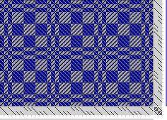 Hand Weaving Draft: 8 shaft twill block, marie payne, 8S, 8T - Handweaving.net Hand Weaving and Draft Archive