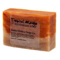 Santa Monica Soap Co Handmade Soap  Tropical Mango with Aloe >>> Check out this great product. (Note:Amazon affiliate link)