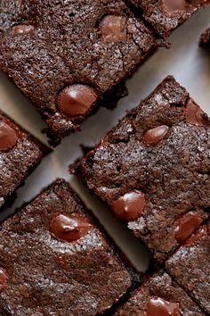 Double Chocolate Brownies Recipe by Giada De Laurentiis www.giadaweekly.com