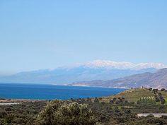 Heraklion, Home And Away, Crete, Bergen, Villa, Mountains, Nature, Travel, Night
