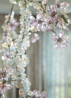 Tord Boontje's Swarovski crystal Blossom chandelier from cottages-gardens.com