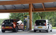 Как будет развиваться сеть зарядных станций для электрокаров в Европе. Прогноз Fastned