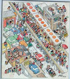 Solve rain jigsaw puzzle online with 110 pieces Filipiniana, Catalog Design, Slice Of Life, Cartoon Styles, Monsoon, Larry, Illustrators, Jigsaw Puzzles, City Photo