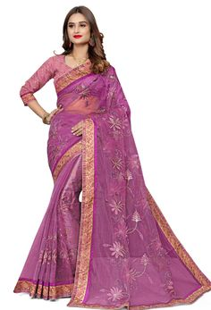 #Net #Sarees is one of the #best #indian #ethnic #dress, it is very #classic and #loved by the each and every #womens. #Nikvik is the #bestseller of #net #saree in #USA #AUSTRALIA #CANADA #UAE #UK Purple Saree, Purple Blouse, Net Saree, Lehenga Choli, Net Blouses, Quality Lingerie, Embroidery Saree, Art Silk Sarees, Fancy Sarees