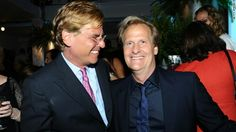 Aaron Sorkin and Jeff Daniels. I must say I was a tad starstruck when I saw these two outside a Broadway theater in NYC. The master screenwriter and the terrific leading actor of the Newsroom! They didn't look this happy, though.