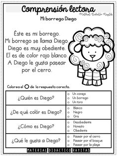 Spanish Class, Spanish Lessons, Teaching Spanish, Letter Worksheets, Preschool Worksheets, Preschool Set Up, First Grade Reading Comprehension, Learning Italian, Teaching Activities