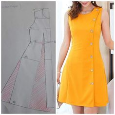 Girl Dress Patterns, Clothing Patterns, Fashion Pants, Fashion Outfits, Baby Frocks Designs, Diy Clothes, Clothes For Women, Stitching Dresses, Kurta Neck Design