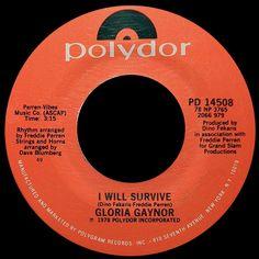 Gloria Gaynor ~ I Will Survive 1979 Disco Purrfection Version