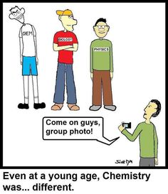 Funny chemistry