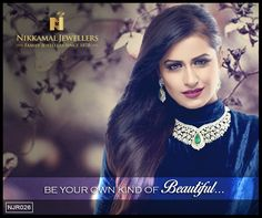 Indian Wedding Jewellery in Diamonds from Nikkamal Jewellers, Ludhiana and Jalandhar Showrooms