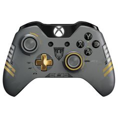 Microsoft Limited Edition Call of Duty: Advanced Warfare Wireless Controller for Xbox One | PCRichard.com | J7200012 #xboxone #videgames #wirelesscontroller