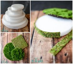 Tutorial for making an easy woodland dessert display by covering FloraCraft® Make It: Fun® Foam Discs with moss. Absolutely perfect for cake pops, candy kebabs, or any treat on a stick! Butterfly Baby Shower, Butterfly Birthday, Butterfly Garden Party, Garden Birthday, Fairy Birthday Party, 80 Birthday, Forest Baby Showers, Burlap Baby Showers, Enchanted Forest Party