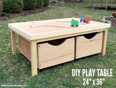 DIY Play table