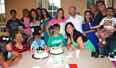 Family baptism party