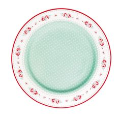 GreenGate plate Sandy Mint - I mean, COME ON, how beautiful is that?!?